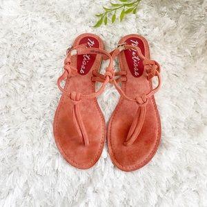 Coral 🐚 Sandals sz 7
